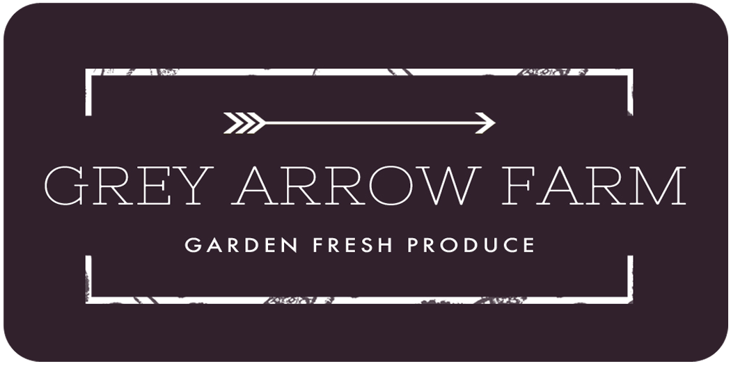 Grey Arrow Farm CSA | Organic Vegetables | Edmonton, Camrose, Sherwood Park Logo